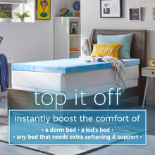 "Originals 2"" Gel-Infused Memory Foam Mattress Topper"
