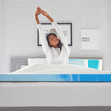 "Comfort Revolution Originals 3"" Gel-Infused Memory Foam Mattress Topper"