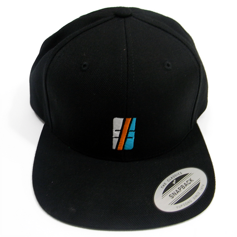 Multi Color Black Hashtag Cap - Hashtag Board Co.