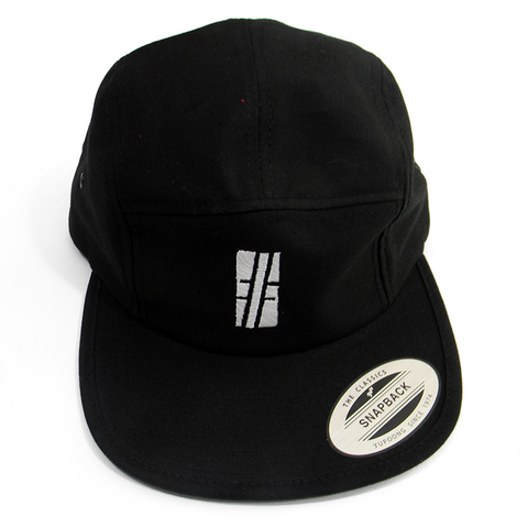 Black Hashtag Snapback - Hashtag Board Co.
