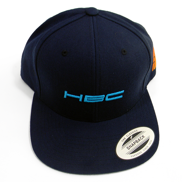 Light Blue HBC Navy Cap - Hashtag Board Co.