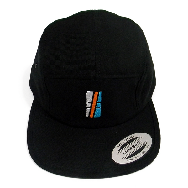Multi-Color Black Hashtag Snapback - Hashtag Board Co.