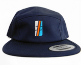 Multi Color Hashtag Five Panel Cap - Hashtag Board Co.  - 2