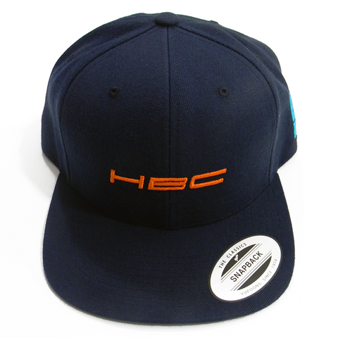 Orange HBC Navy Cap - Hashtag Board Co.