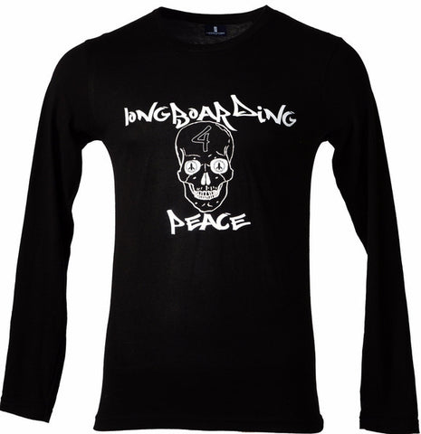 Four Skull Long Sleeve Tee - Hashtag Board Co.