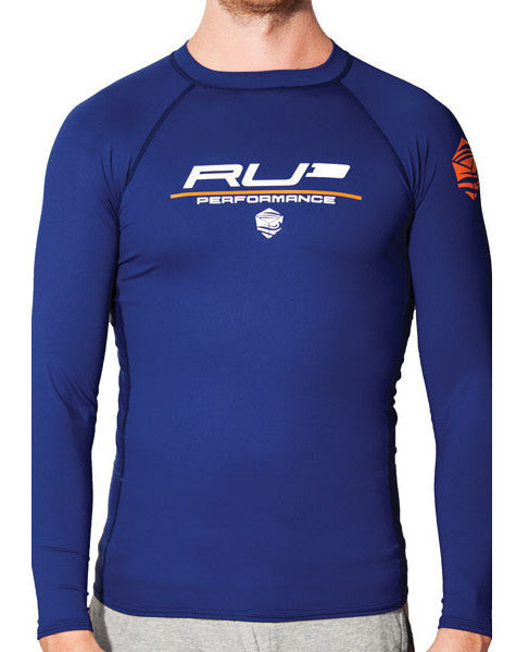 RU3 Navy Rash Guard - Hashtag Board Co.