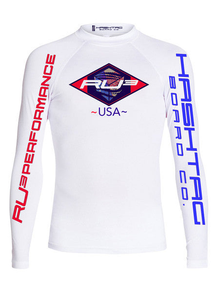 Rashguard Men's UV Longsleeve RU3 Performance World Championship Skin - Hashtag Board Co.