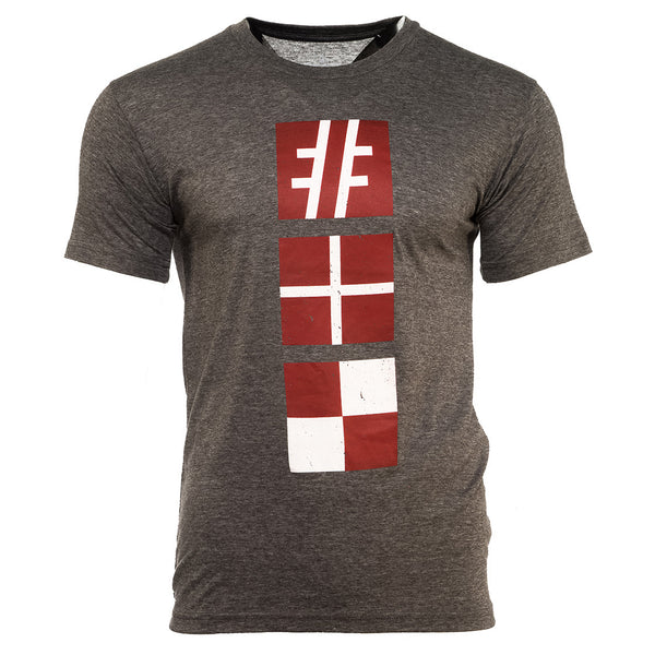 Grey Nautical Tee - Hashtag Board Co.