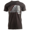 HBC L4P Modern Black T-Shirt - Hashtag Board Co.  - 1