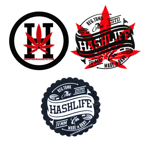 Stickers FREE with $75+ Purchase - Hashtag Board Co.
