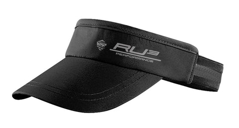 Visor Yachting Black and Reflective RU3 Performance - Hashtag Board Co.