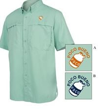 S/S Microfiber Shirt Coastal - Green