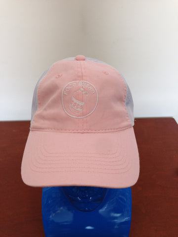 Cap - Ladies Pink/White