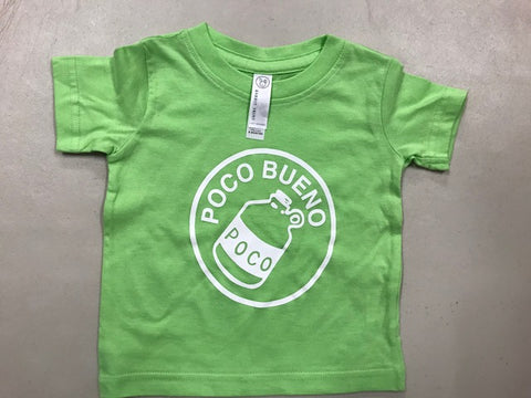 2018 INFANT T-shirt - Lime Green