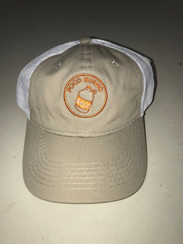 Cap - Tan/White Mesh