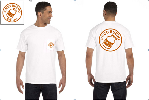 2017 Classic Shirt - White w/ orange imprint