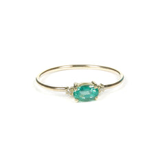 DREAM EMERALD DIAMOND RING