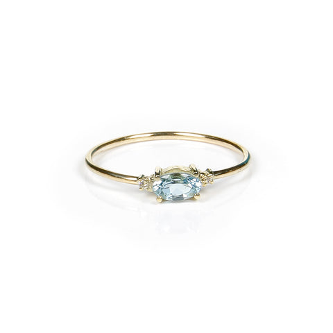 DREAM AQUAMARINE DIAMONDS RING
