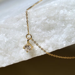 Collar oro 18k Diamante