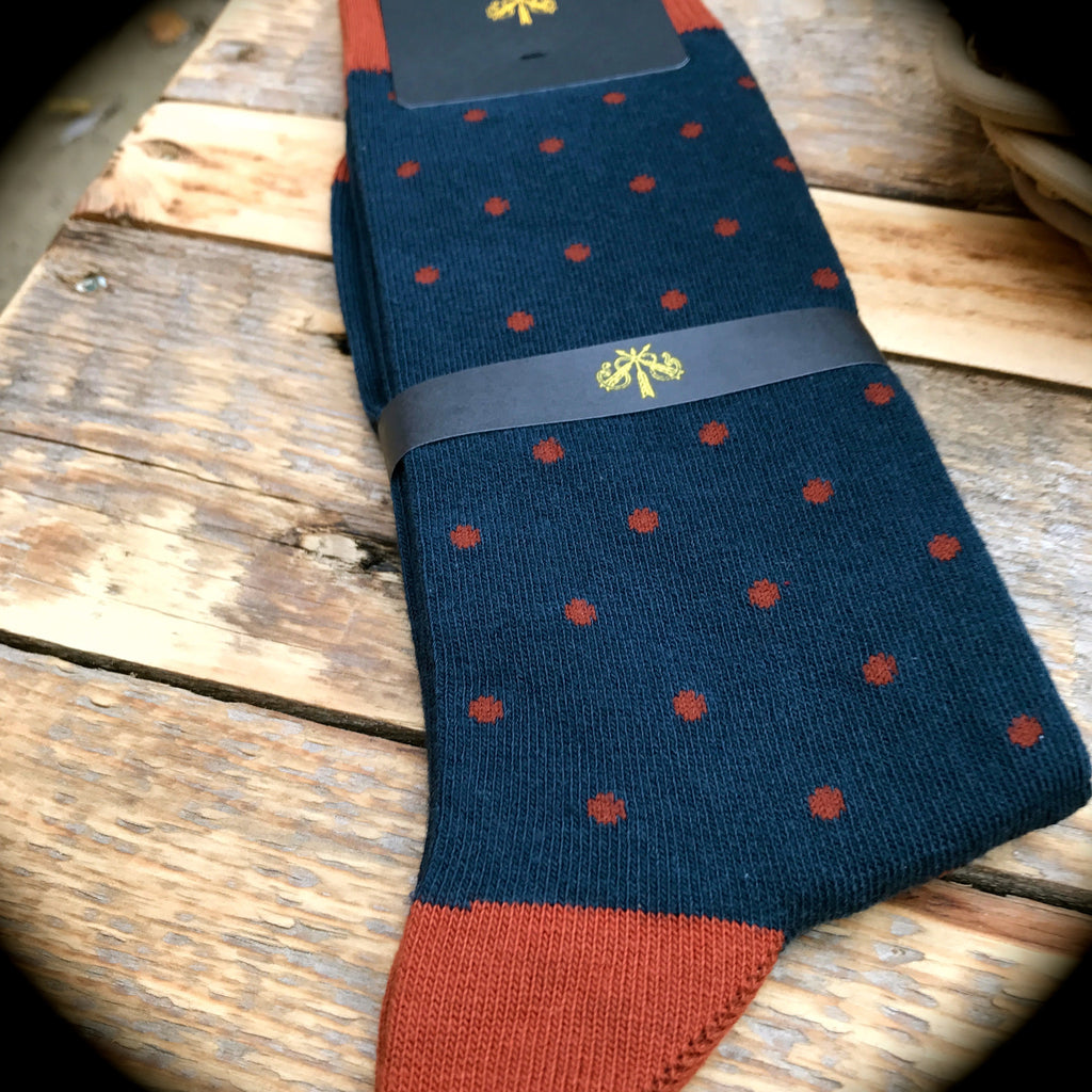 Luxury Men's Socks - Spotted Dick