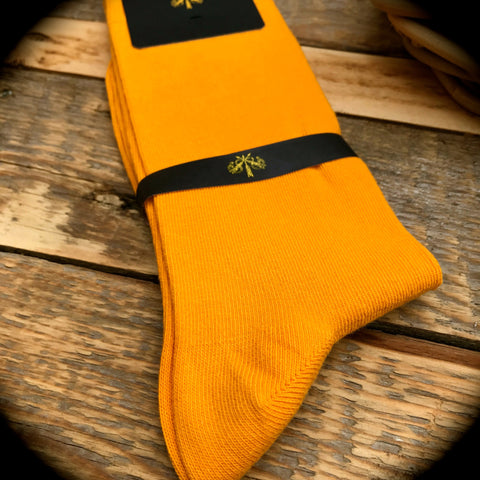 Luxury Men's Socks - Satsuma