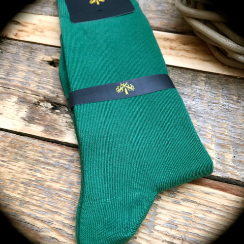 Luxury Men's Socks - Spruce