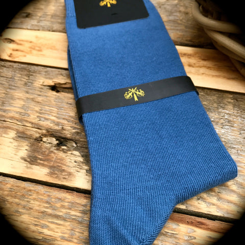 Luxury Men's Socks - Aegean