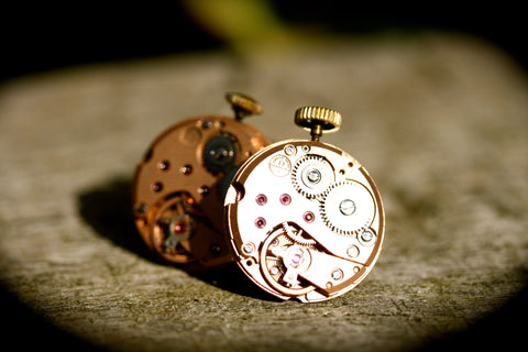 Vintage Omega Watch Movement Cufflinks