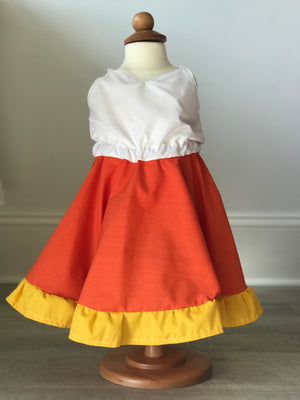Candy Corn Beckett Dress