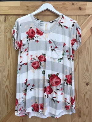 Laura Short Sleeve Top