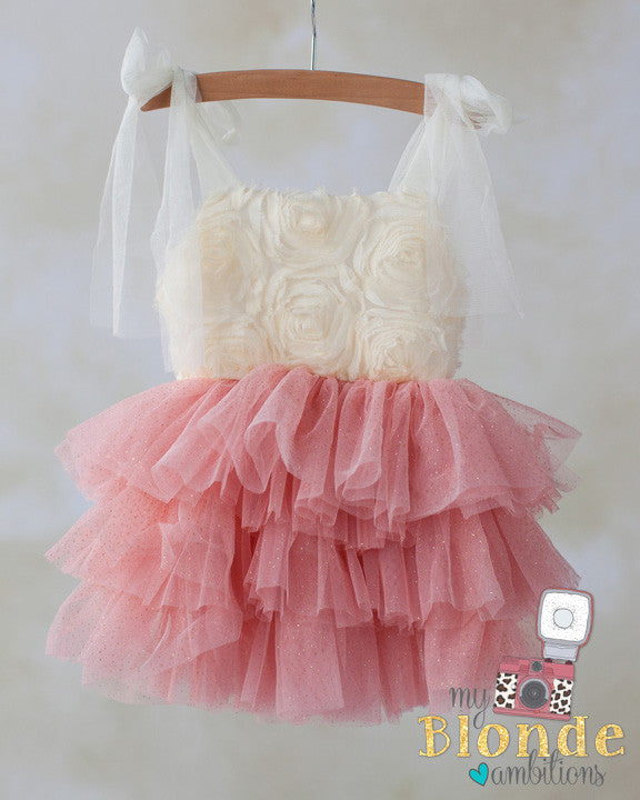 Peach Princess Frolic Dress