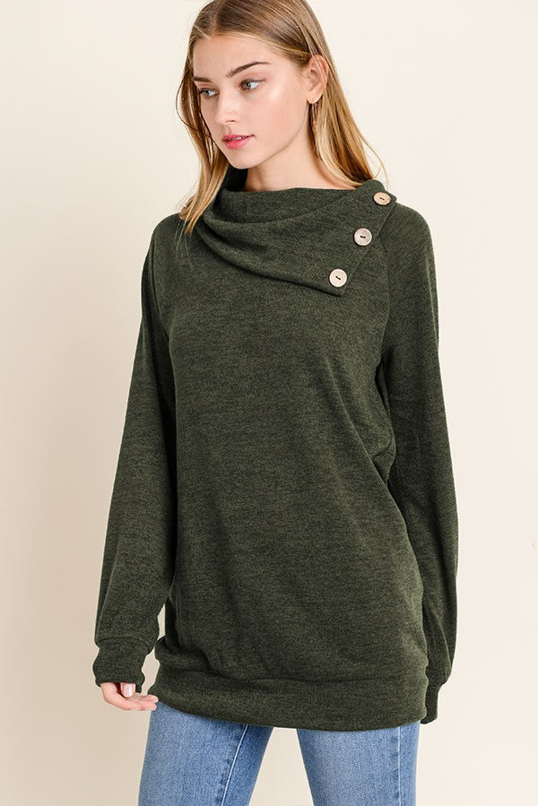 Erin Olive A symmetrical sweater