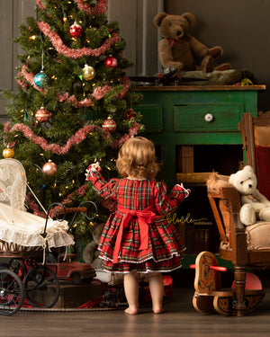 Perfectly Plaid Christmas Dress