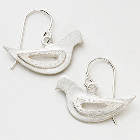 medium dove earrings