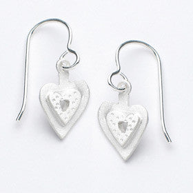 small heart earrings