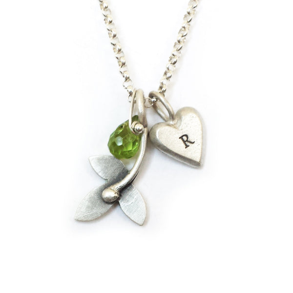 botanical sprig combination necklace {starts at $48}