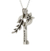 peace/hebrew key and botanical combination necklace {starts at $88}
