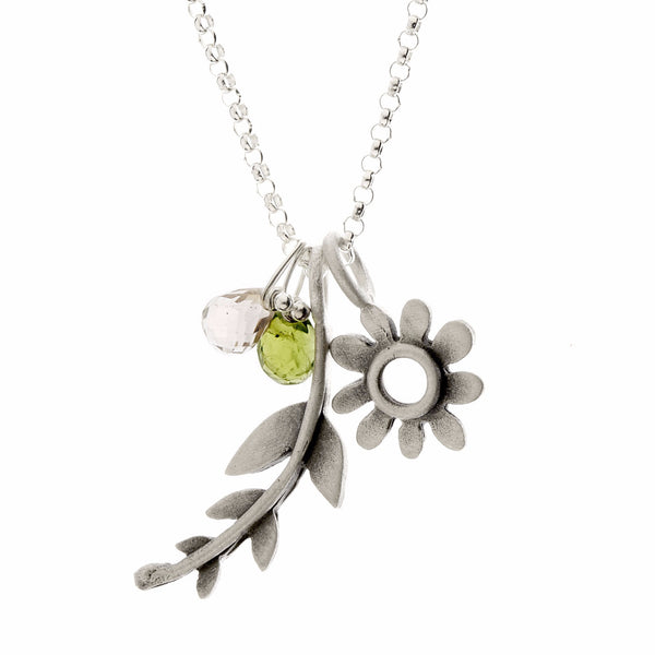 botanical frond combination necklace {starts at $76}