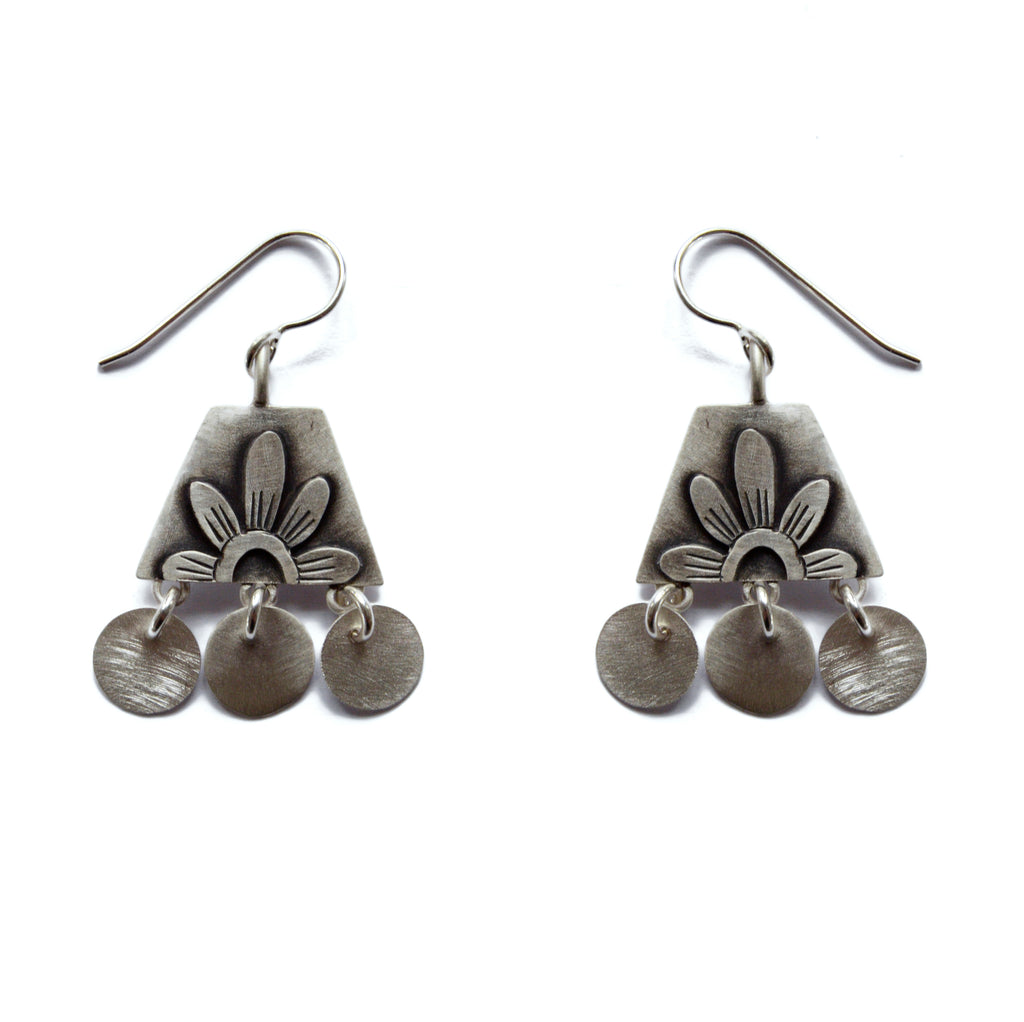 folklorica flower earrings
