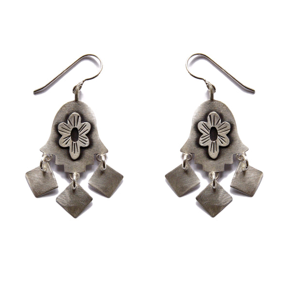 folklorica hamsa earrings
