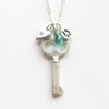 medium simple key combination necklace {starts at $60}