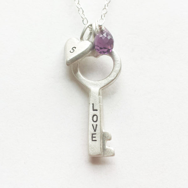 small love key combination necklace {starts at $54}