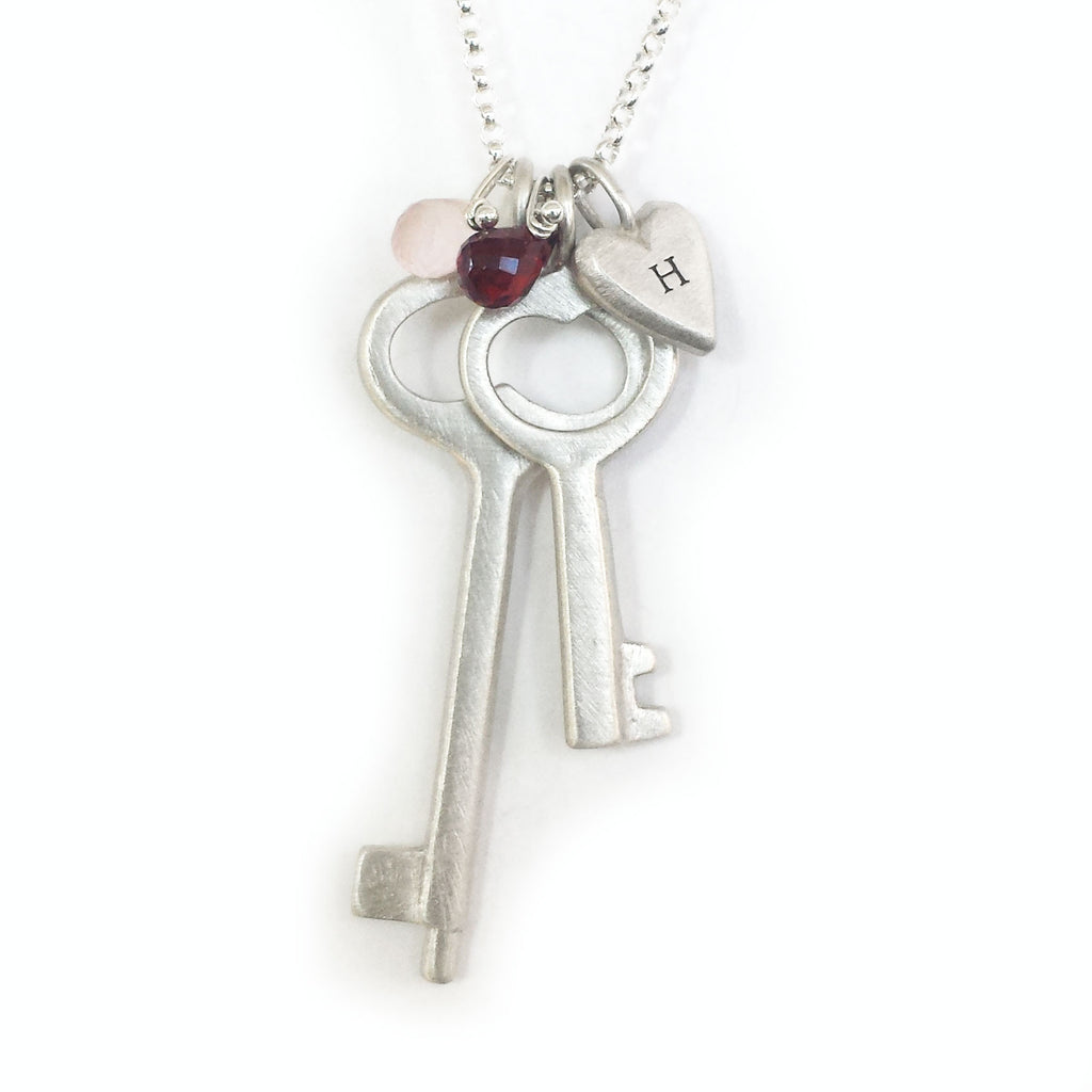 simple key combination necklace {starts at $54}