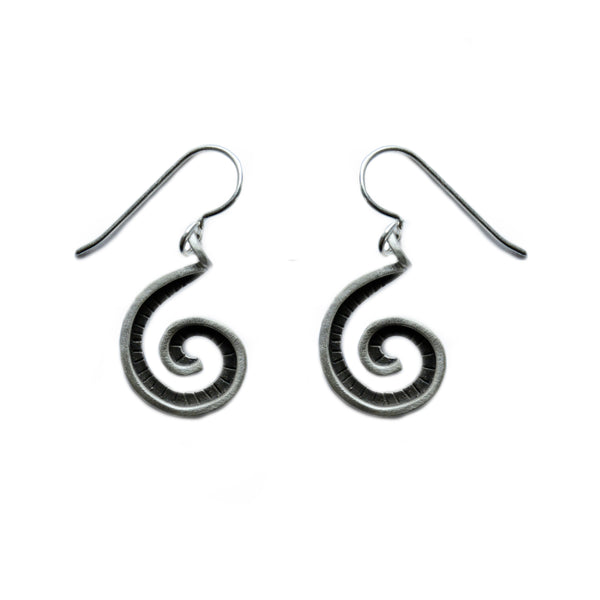 small fibonacci earrings