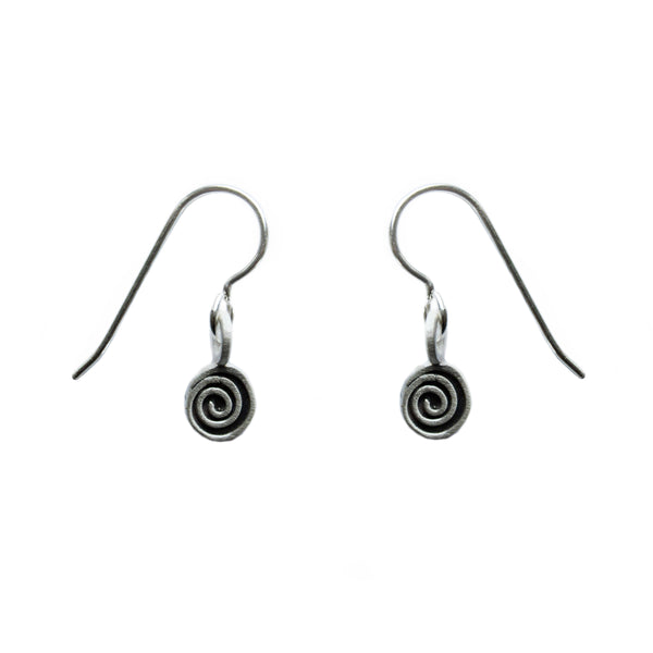 mini spiral earrings