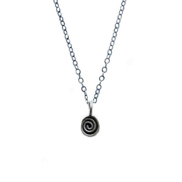 mini spiral necklace