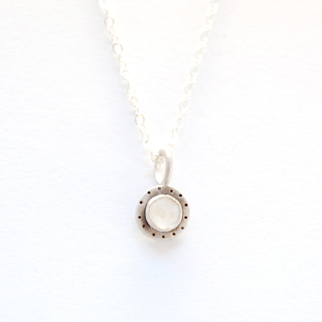 medium cabochon with dots necklace {starts at $56}