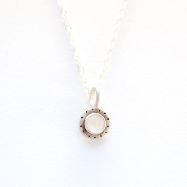 medium cabochon with dots necklace {starts at $58}