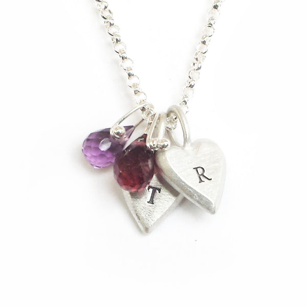 personalized tiny heart necklace {starts at $48}
