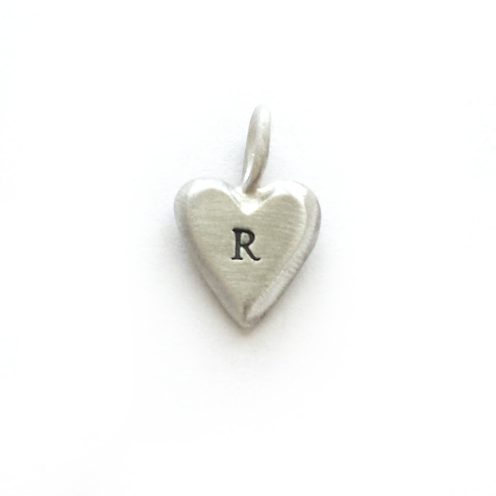 extra sterling silver tiny heart charm